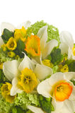Wedding bouquet with daffodil Stock Images