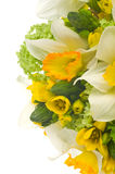 Wedding bouquet with daffodil Royalty Free Stock Image