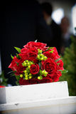 Wedding bouquet flower arrangement. Bridal wedding flowers and brides bouquet Stock Images
