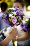 Wedding bouquet flower arrangement Stock Photography