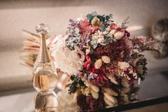 Wedding Bouquet flower with fragance royalty free stock images