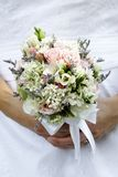 Wedding bouquet of flowers stock photo