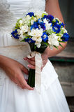 Wedding bouquet of flowers. Beautiful flowers for a wedding bouquet Royalty Free Stock Photos
