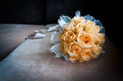 Wedding bouquet of flowers. Beautiful flowers for a wedding bouquet Stock Image