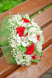 Wedding bouquet of flowers Stock Photography