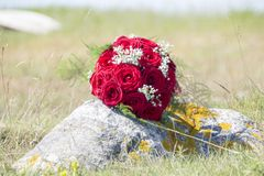 Wedding bouquet. Flowers for the bride Stock Photography