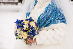 Wedding bouquet of flowers. Wedding bouquet for the bride Stock Images