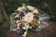 Wedding bouquet flowers Royalty Free Stock Images