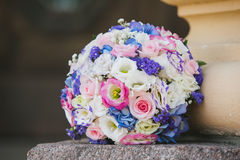 Wedding bouquet flowers Stock Image
