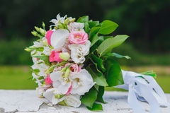 Wedding bouquet flowers Stock Images