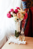 Wedding bouquet of flowers Royalty Free Stock Photos