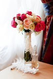 Wedding bouquet of flowers Royalty Free Stock Images