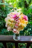 Wedding bouquet, flowers, roses, beautiful bouquet Stock Photos