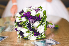 Wedding bouquet, flowers, roses, beautiful bouquet. Stock Photography