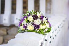 Wedding bouquet, flowers, roses, beautiful bouquet Stock Photos