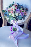 Wedding bouquet, flowers, roses, beautiful bouquet Stock Images