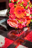 Wedding bouquet, flowers, roses, beautiful bouquet Royalty Free Stock Images