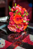 Wedding bouquet, flowers, roses, beautiful bouquet Royalty Free Stock Photos
