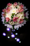 Wedding bouquet of flowers in Russia. Royalty Free Stock Image