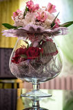 Wedding bouquet of flowers in Russia. Royalty Free Stock Images