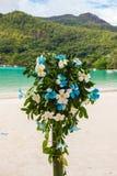 Wedding bouquet of frangipani Royalty Free Stock Images