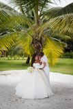 Wedding bouquet of frangipani Royalty Free Stock Photos