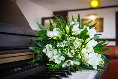 Wedding bouquet with fresia Stock Photography