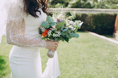 Wedding bouquet HD Royalty Free Stock Images
