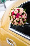 Wedding bouquet of limousine Royalty Free Stock Images