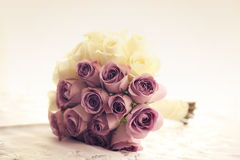Wedding bouquet made of roses Royalty Free Stock Photography