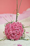 Wedding bouquet made of roses Royalty Free Stock Photo