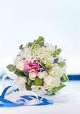 Wedding bouquet. Multi flowers wedding bouquet for the bride Royalty Free Stock Photos