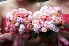 Free Wedding Bouquet Of Flowers Royalty Free Stock Photos - 1499678