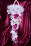 Wedding bouquet with orchids Royalty Free Stock Images