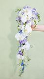 Wedding bouquet of orchids Royalty Free Stock Photos