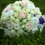 Wedding bouquet outdoor Stock Images