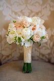 Wedding bouquet of peonies Stock Image