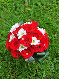 Wedding bouquet. Of red roses Royalty Free Stock Photography
