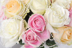 Wedding bouquet with rose Stock Photography