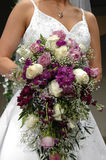 Wedding Bouquet From  Roses Stock Images