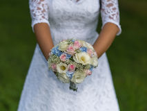 Wedding bouquet of roses Royalty Free Stock Image