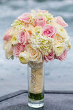 Wedding bouquet with roses Royalty Free Stock Photo