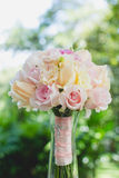 Wedding bouquet of roses Royalty Free Stock Photo