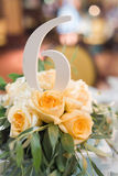 Wedding bouquet roses Stock Photo