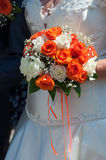 Wedding bouquet of roses Royalty Free Stock Photos