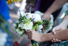 Wedding bouquet. For a special bride Stock Photo