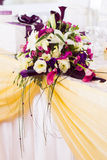 Wedding bouquet on the table Royalty Free Stock Photo