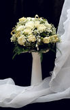Wedding Bouquet in Vase Royalty Free Stock Images