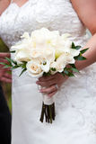 Wedding Bouquet in white Royalty Free Stock Image