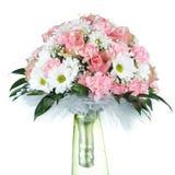 Wedding bouquet on white background Royalty Free Stock Image